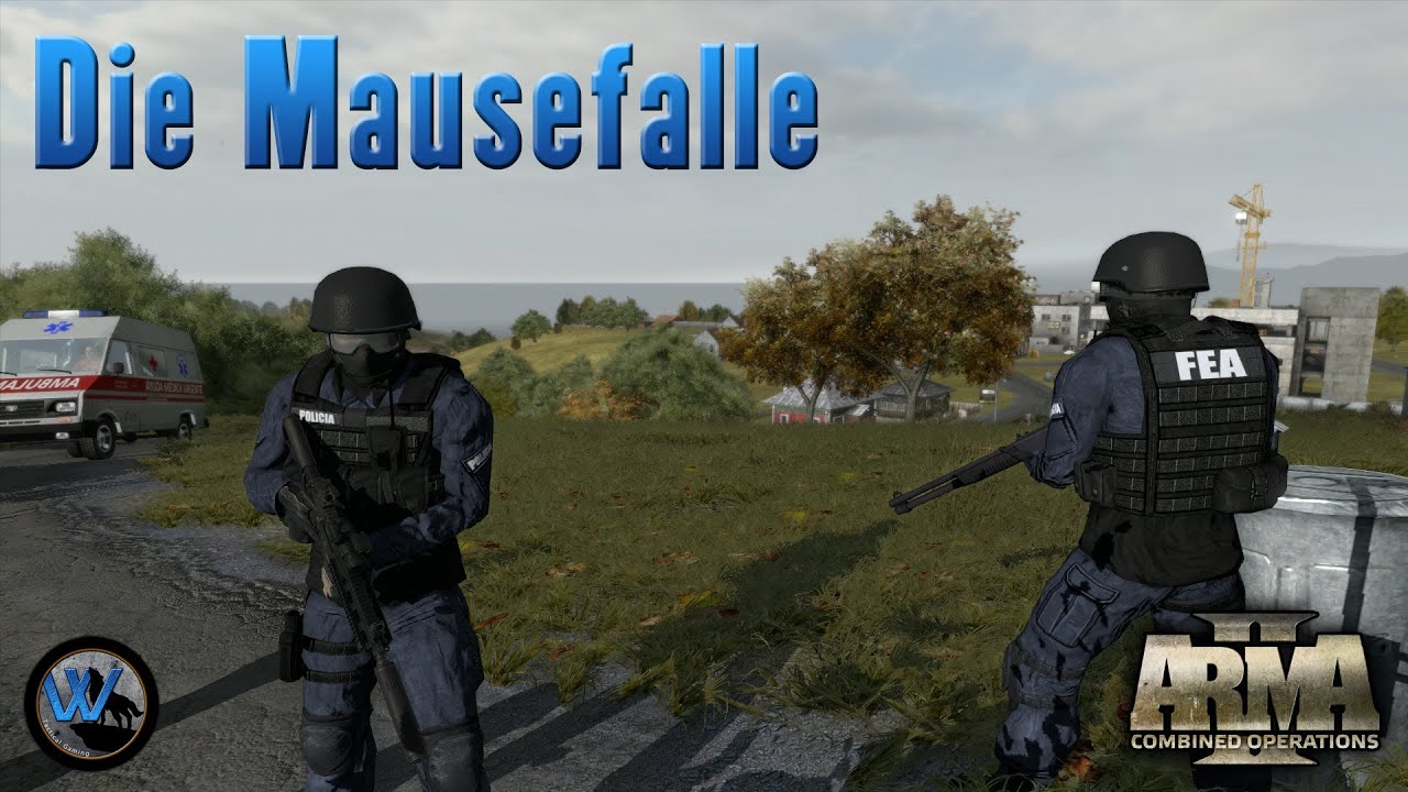 arma 2 die mausefalle swat gruppe w youtube. Black Bedroom Furniture Sets. Home Design Ideas