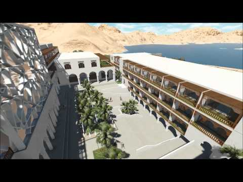 hotel project - dead sea designed by :azam habra