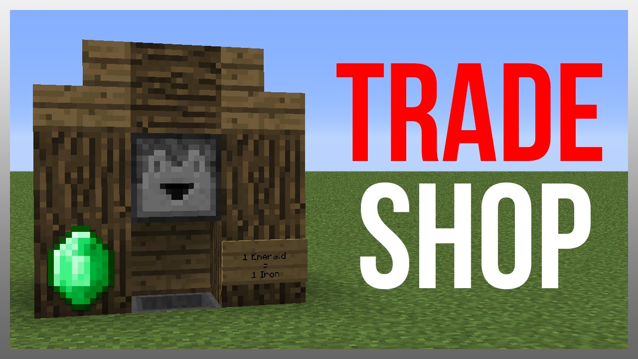 Best trading system in minecraft