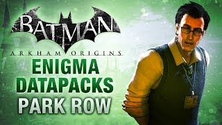 Batman: Arkham Origins Enigma Datapacks Park Row