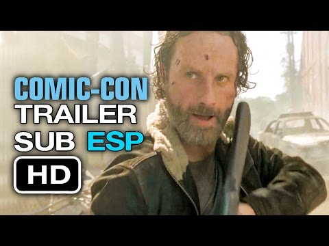 The Walking Dead: Season 5-Trailer Subtitulado en Español (HD) Comic-Con 2014