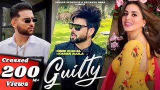 Guilty Inder Chahal Ft Karan Aujla Video HD Download New Video HD