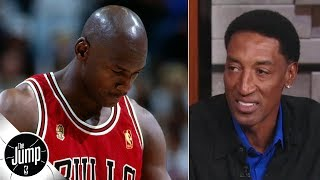 Scottie Pippen remembers Michael Jordan's iconic 1997 Flu Game | The Jump | ESPN