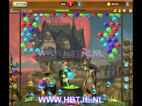 Bubble Witch Saga level 66