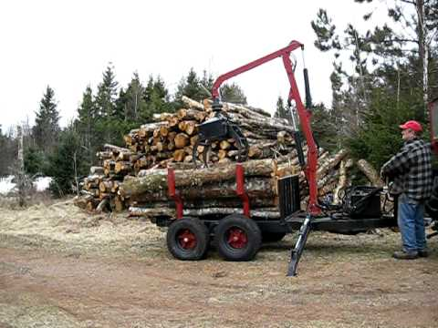 Log Loading Arch On A Dump Truck Bed