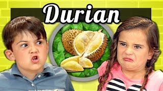 KIDS vs. FOOD – DURIAN