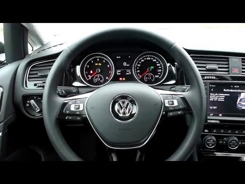 2012 vw golf 7 1 4 tsi bluemotion highline interieur in for Lederen interieur golf 4