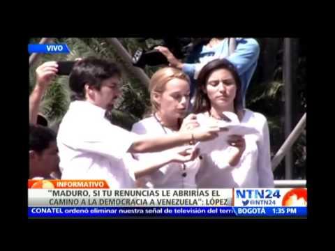 Esta es la carta que Leopoldo López le envió a Nicolás Maduro desde la prisión