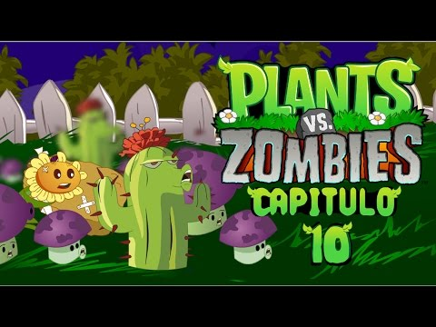 Plantas vs zombies animado 10 (PARODIA)
