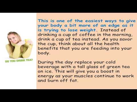 In This Video: By Drinking Tea Weight Loss Can Be Improved