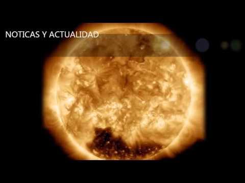 El sol. ¿El Sol se apaga?, Hallan un enorme agujero en la corona solar