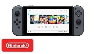 Nintendo Switch - HOME Menu