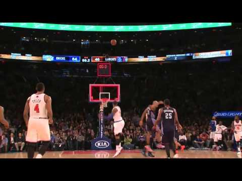 Carmelo Anthony 62 Point Game -
