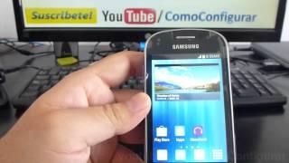 Gt S6810 Samsung Galaxy Fame Español Video Full HD