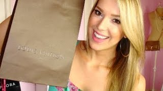 MissJenFABULOUS – HAUL: Louis Vuitton, Beauty Store + More!