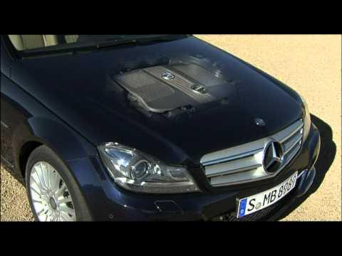 2012 Mercedes Benz C250 CDI Exterior and Interior Design
