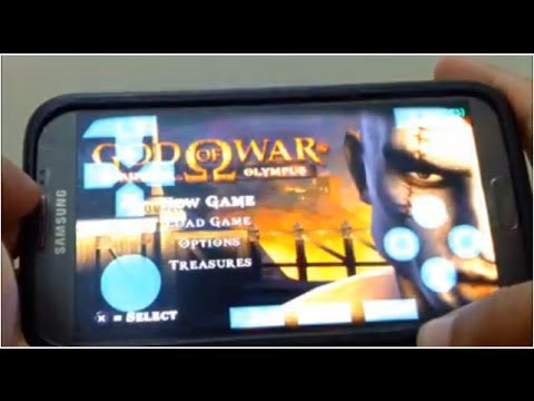 Jogando God Of War No Celular + Tutorial