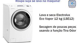Lava E Seca Electrolux Eco Vapor 12kg (LSE12) Secagem