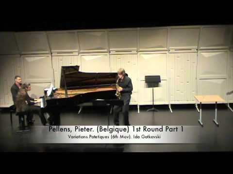 Pellens, Pieter. (Belgique) 1st Round Part 1