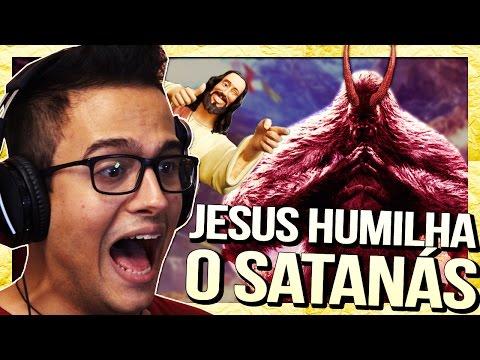 JESUS HUMILHA O SATANÁS || Jogando com Damiani