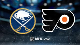 Flyers edge Sabres for fifth straight win