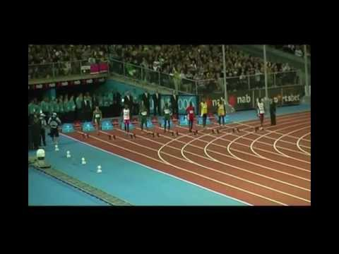 Men's 100m Commonwealth Games Melbourne 2006
