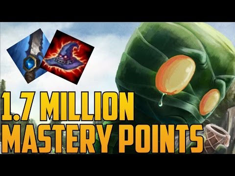 Platinum Full AP AMUMU 1,700,000 MASTERY POINTS- Spectate Highest Mastery Points on Amumu