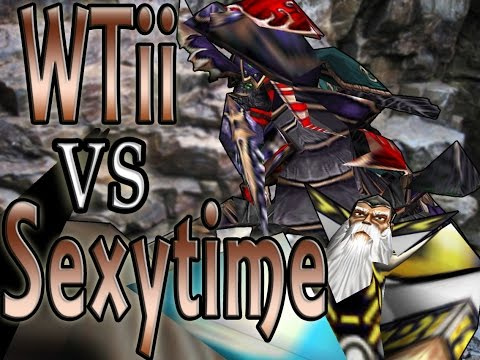Warcraft 3 - WTii vs Sexytime