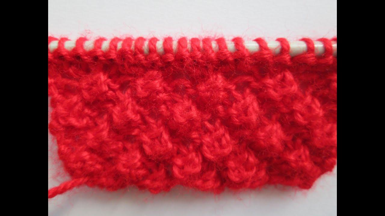 D i y tuto tricot apprendre a tricoter le point d 39 astrakan ou trinite point de tricot fantaisie - Point de sable tricot ...