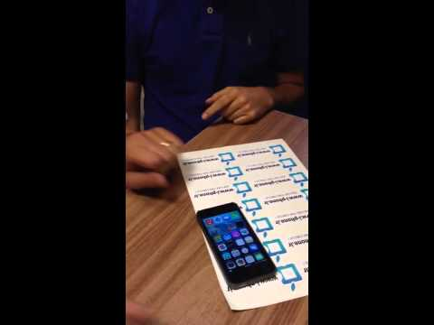 Video clip: Qua mặt iPhone 5s với