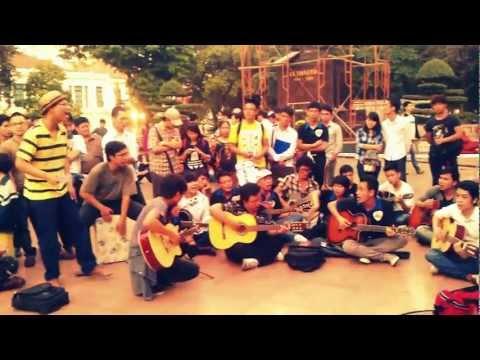 LK Nơi tình yêu bắt đầu - Lời yêu thương - Cha _ Du ca đường phố 26/12/2012