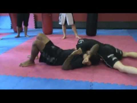 Reverse Arm Triangle From Side Control