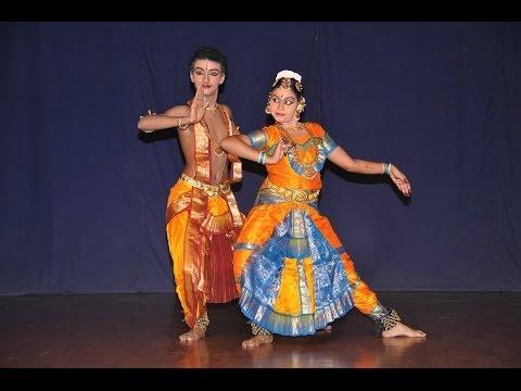 Adithya Ram and VS Raksha duet, 2 - Sri Bhavani Natyalaya