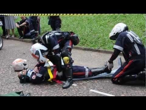 Simulado de Atendimento à Vítima de Acidente -  SAMU