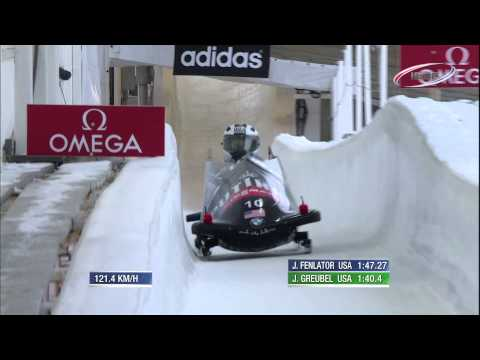 FIBT | Women's Bobsleigh World Cup 2013/2014 - Lake Placid Highlights