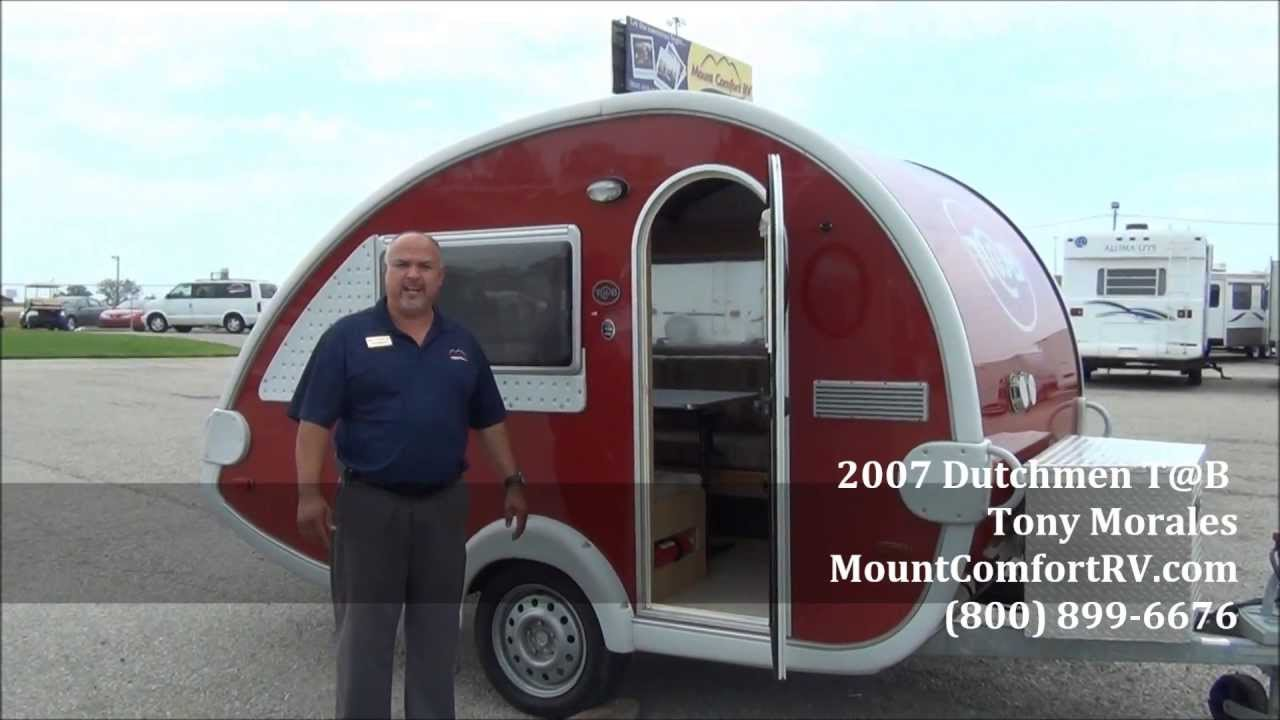 Sold Used Tear Drop Travel Trailer 2007 Dutchmen Tab