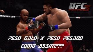 UFC Undisputed 3 Peso Pesado X Peso Galo , Como Fazer O