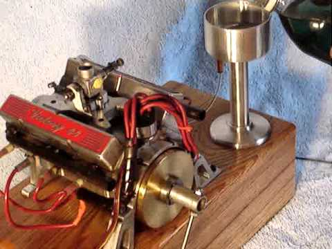 World U0026 39 S Smallest Running V8 Engine