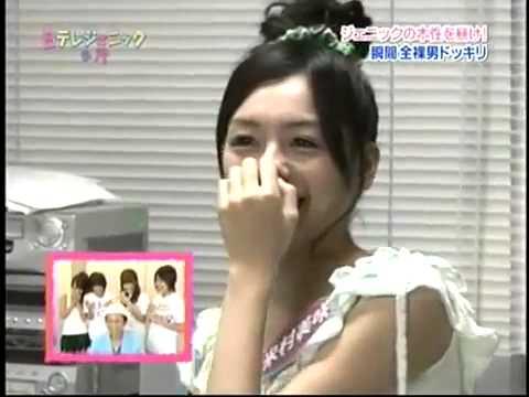 Show hài Nhật Bản - Tuột quần áo xem phản ứng của girl  18+