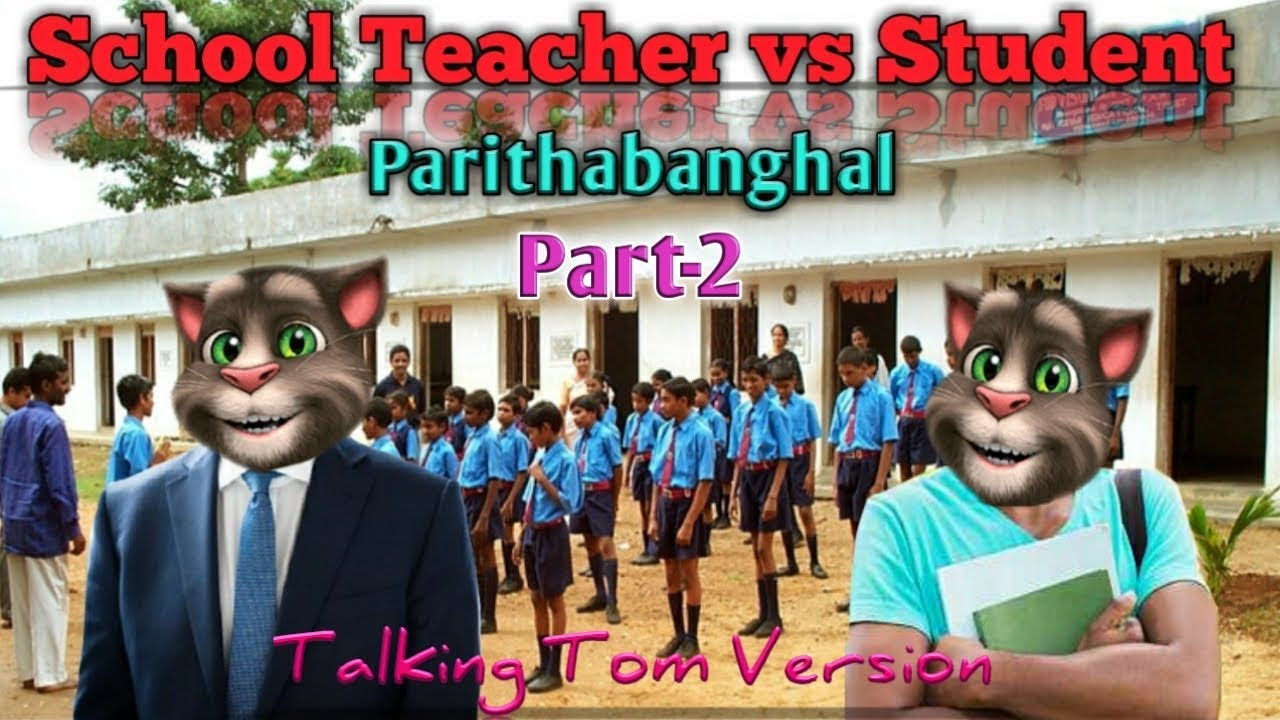   Funny jokes   Student and Teacher   Talking Tom Version   Comedy Series#5