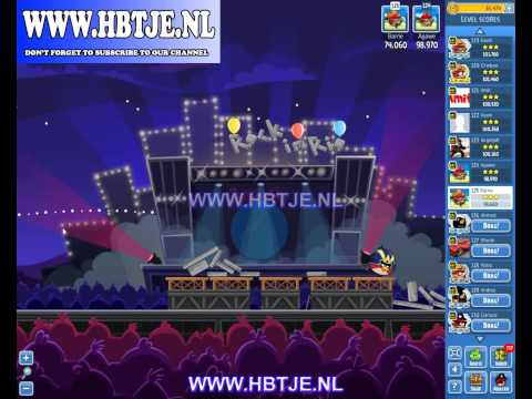 Angry Birds Friends Tournament Week 69 Level 1 High Score 104k (tournament 1) Rock in Rio