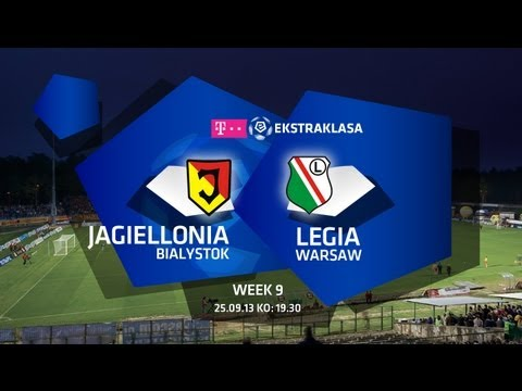 Jagiellonia v Legia Warsaw - Highlights Sept 2013