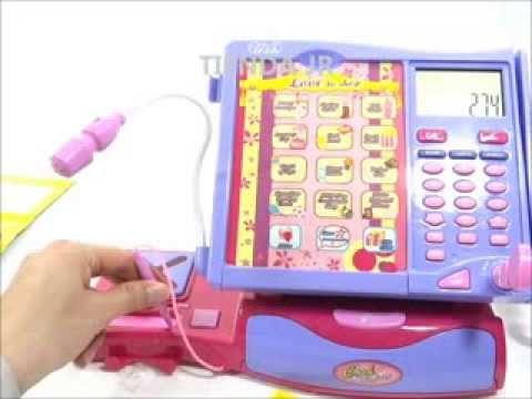 Cajas registradoras de juguete para ni as tactil lcd - Caja registradora juguete ...
