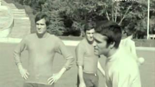 Treino de Damas na Selecção em 1972/1973