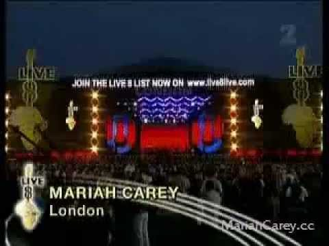 Mariah Carey - We Belong Together & Make It Happen Live 8