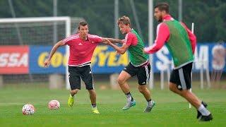 Verso Genoa-Juventus - Genoa preparations continue