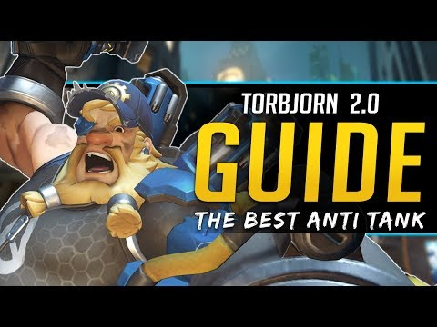 Overwatch Torbjorn 2.0 Guide - Play like a PRO - All Abilities, Stats, and More