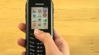 Samsung B2710 Xcover Test Bedienung