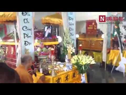 Cận cảnh đám tang diễn viên, người mẫu Duy Nhân tại chùa Vĩnh Nghiêm.
