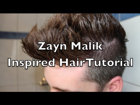 Zayn Malik Hair Tutorial / ONE DIRECTION